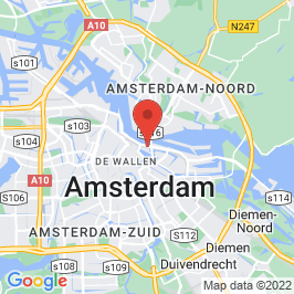 Google map of Oud Nico (De Ruyterkade), Amsterdam