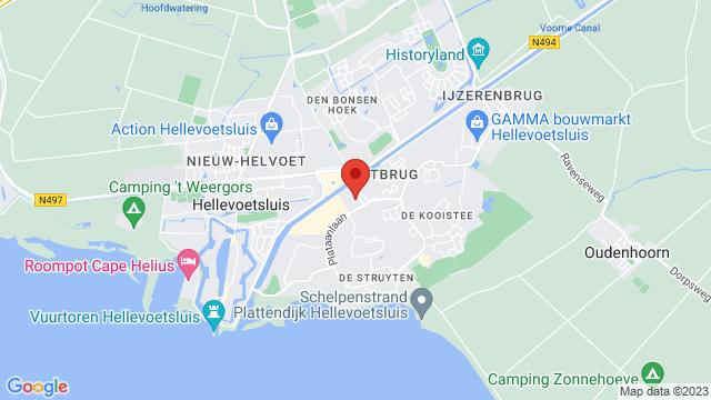 Hellevoetsluis op Google Maps