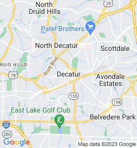 Decatur GA Map