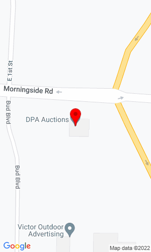 Google Map of Del Peterson & Assoc. 419 West Judy Drive, Fremont, NE, 68025