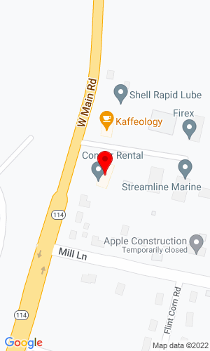 Google Map of Depaul Diesel Service Inc. Dba Connor Rental 1416 West Main Rd, Portsmouth, RI, 02871