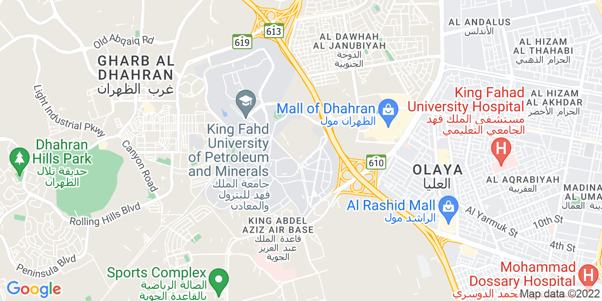 Map: Scheduling Engineer job role in Dhahran