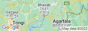 Bhairab Bazar map