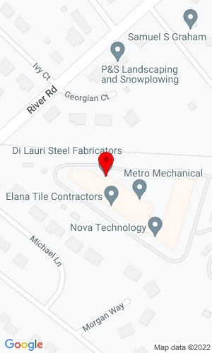 Google Map of Di Lauri Steel Fabricators 5 Merry Lane, East Hanover, NJ, 07936