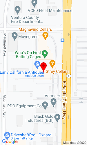 Google Map of Diamond A. Equipment 821 North Rice Avenue, Oxnard, CA, 93030,