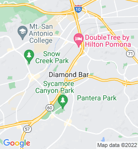 Diamond Bar CA Map