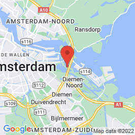 Google map of Gemeenlandshuis, Amsterdam