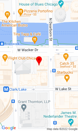 Google Map of Diesel Sales 55 West Wacker Drive  Suite 1120, Chicago, IL, 60601
