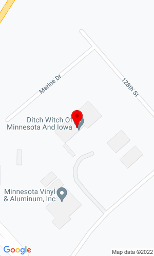 Google Map of Ditch Witch of  Minnesota & Iowa 21124 Holden Drive, Davenport, IA, 52806