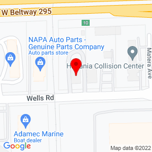 Google Map of Ditch Witch of Florida+1495+Wells+Road+Orange+Park+%28Jacksonville%29+FL+32073