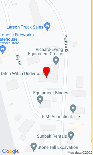 Google Map of Ditch Witch of South Dakota 27125 Parklane Drive, Sioux Falls, SD, 57106