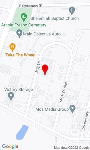 Google Map of Dixiequip INC. 4323 Billy Lane, Fresno, TX, 77545