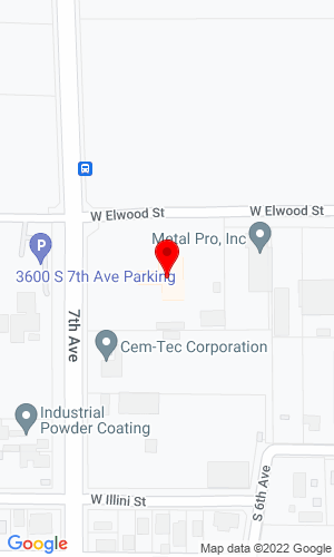 Google Map of Dodd Diesel (DDI) 3615 S 7th Avenue, Phoenix, AZ, 85041,