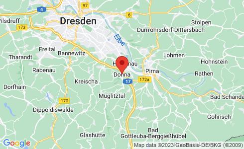 Google Karte - Dohna