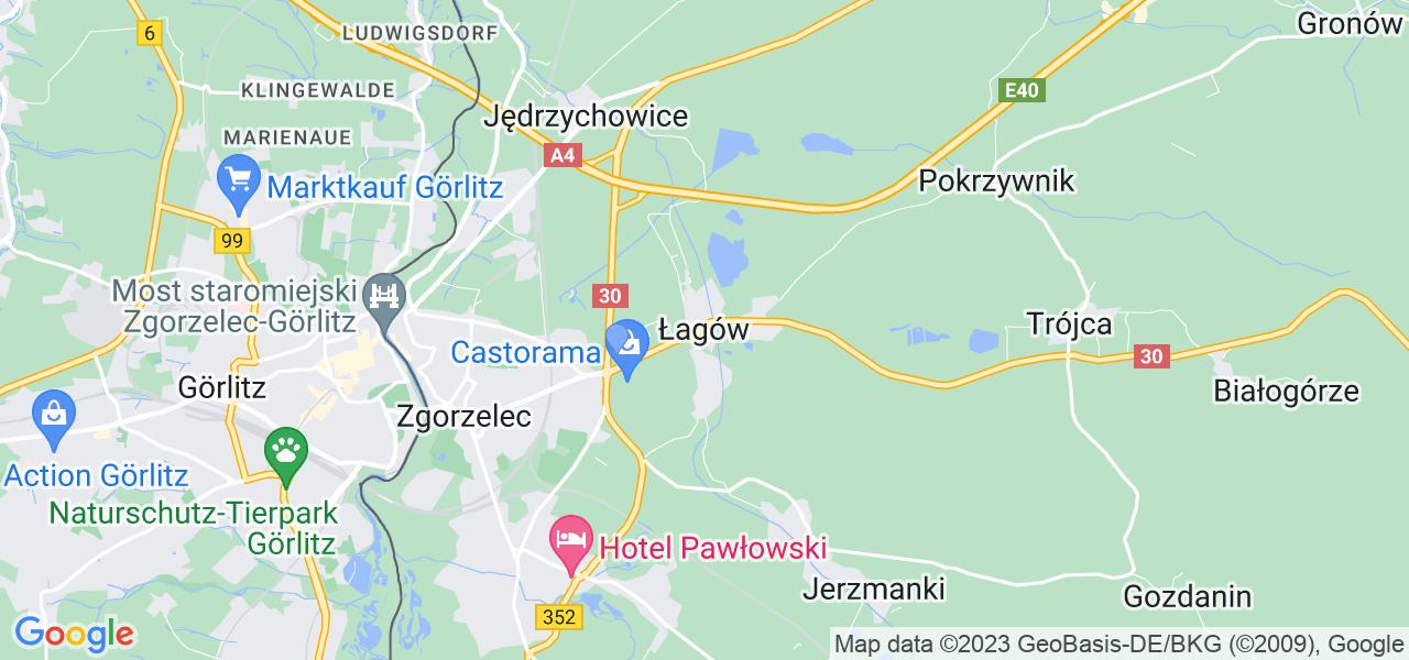Dostępne w Łagowie lokalizacje punktów nadania, z których możesz skorzystać, chcąc wysłać turbinę do regeneracji w największym serwisie w Polsce