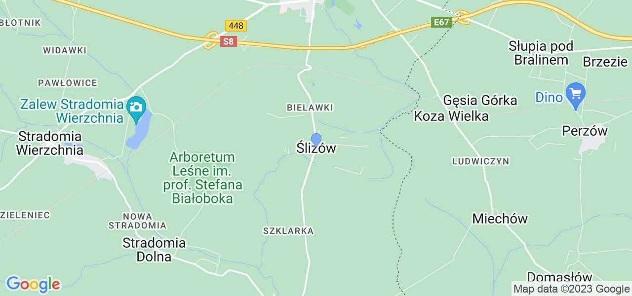 Dostępne w Ślizowie lokalizacje punktów nadania, z których możesz skorzystać, chcąc wysłać turbinę do regeneracji w największym serwisie w Polsce