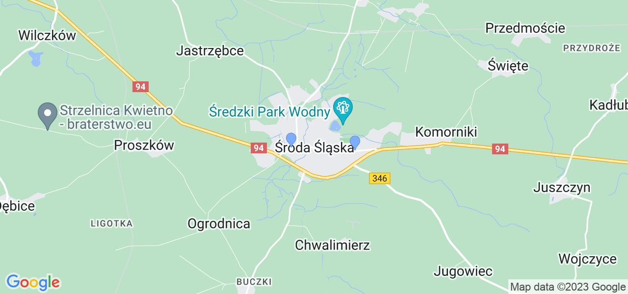 Dostępne w Środzie Śląskiej lokalizacje punktów nadania, z których możesz skorzystać, chcąc wysłać turbinę do regeneracji w największym serwisie w Polsce