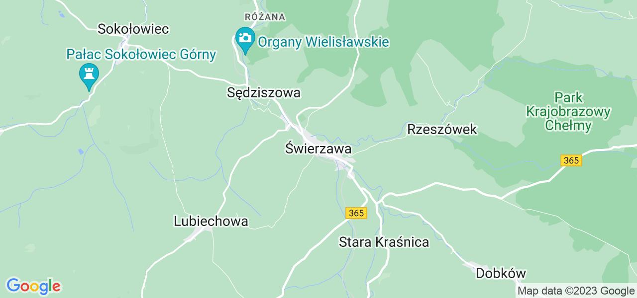Dostępne w Świerzawie lokalizacje punktów nadania, z których możesz skorzystać, chcąc wysłać turbinę do regeneracji w największym serwisie w Polsce