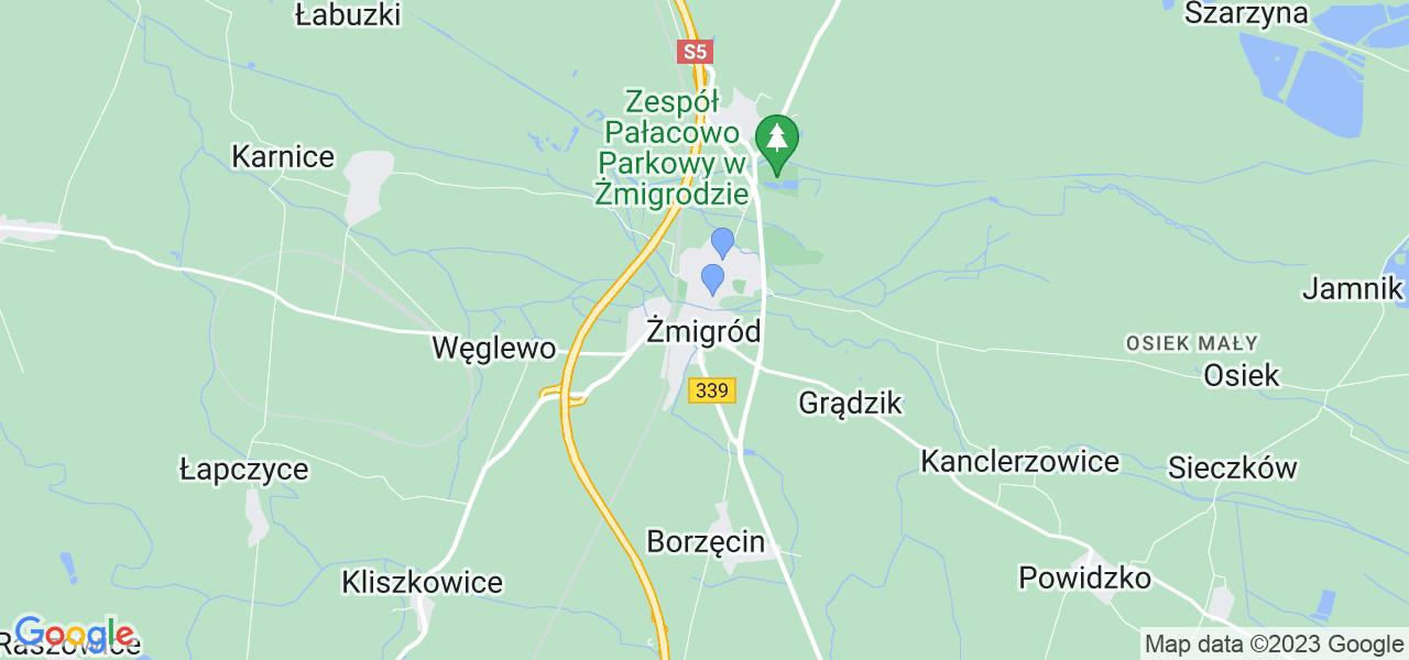 Dostępne w Żmigrodzie lokalizacje punktów nadania, z których możesz skorzystać, chcąc wysłać turbinę do regeneracji w największym serwisie w Polsce