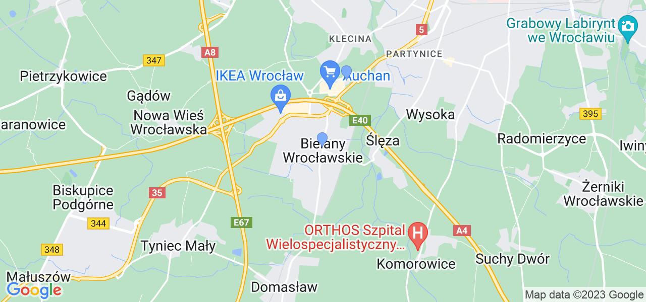 Dostępne w Bielanach Wrocławskich lokalizacje punktów nadania, z których możesz skorzystać, chcąc wysłać turbinę do regeneracji w największym serwisie w Polsce