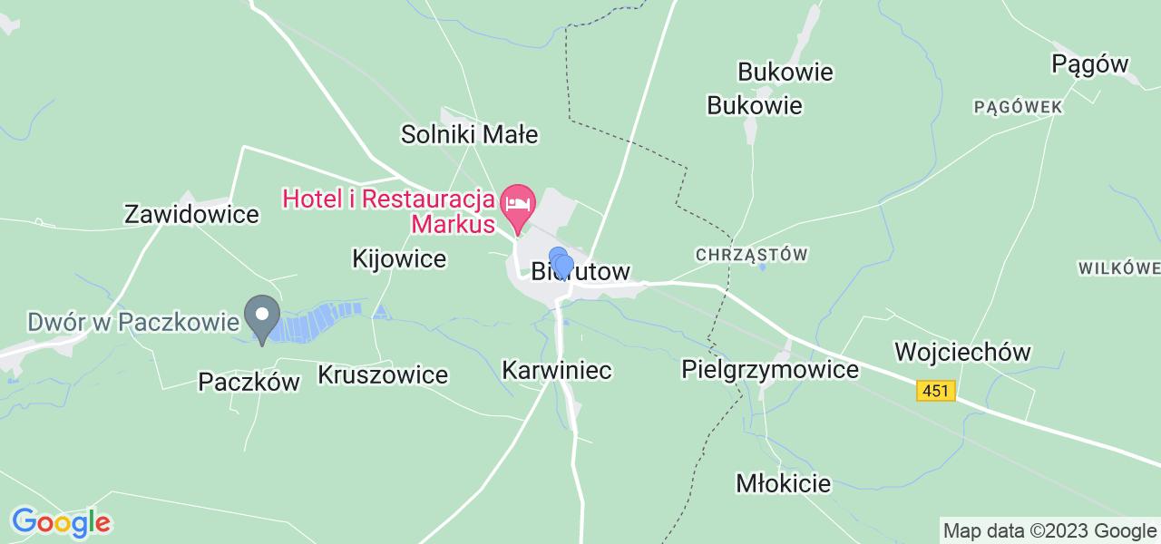 Dostępne w Bierutowie lokalizacje punktów nadania, z których możesz skorzystać, chcąc wysłać turbinę do regeneracji w największym serwisie w Polsce