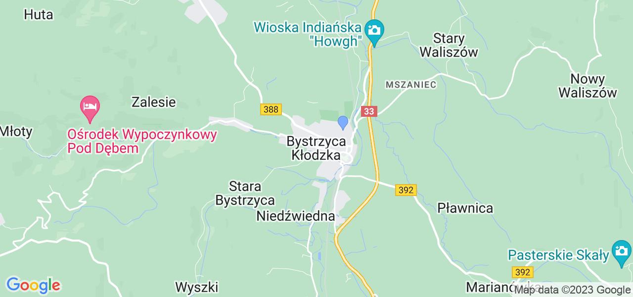 Dostępne w Bystrzycy Kłodzkiej lokalizacje punktów nadania, z których możesz skorzystać, chcąc wysłać turbinę do regeneracji w największym serwisie w Polsce
