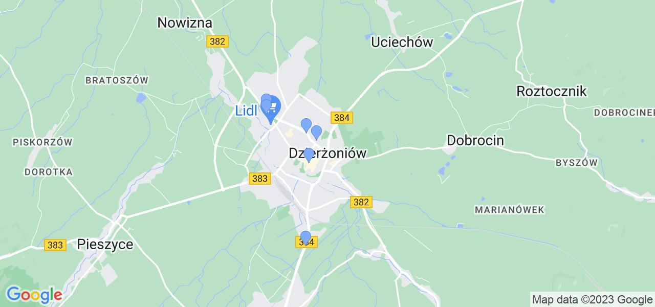 Dostępne w Dzierżoniowie lokalizacje punktów nadania, z których możesz skorzystać, chcąc wysłać turbinę do regeneracji w największym serwisie w Polsce