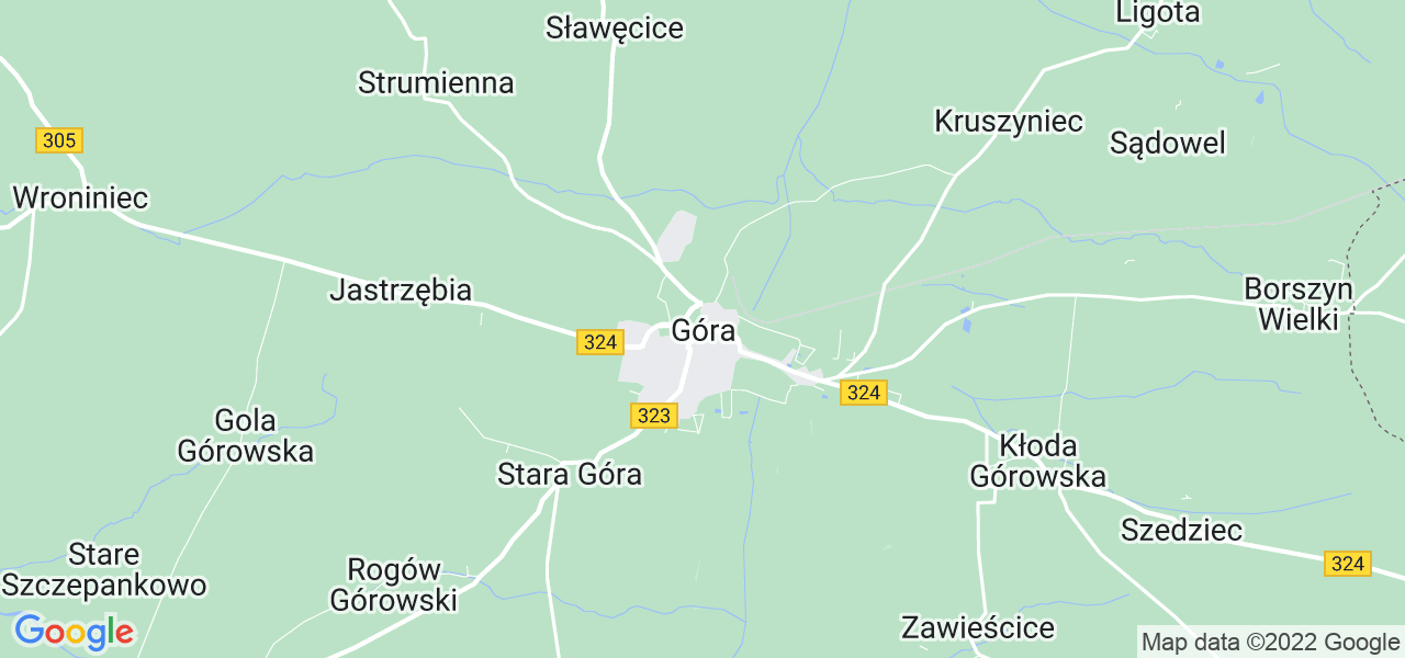 Dostępne w Górze lokalizacje punktów nadania, z których możesz skorzystać, chcąc wysłać turbinę do regeneracji w największym serwisie w Polsce