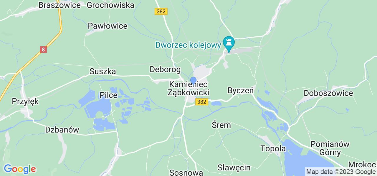 Dostępne w Kamieńcu Ząbkowickim lokalizacje punktów nadania, z których możesz skorzystać, chcąc wysłać turbinę do regeneracji w największym serwisie w Polsce