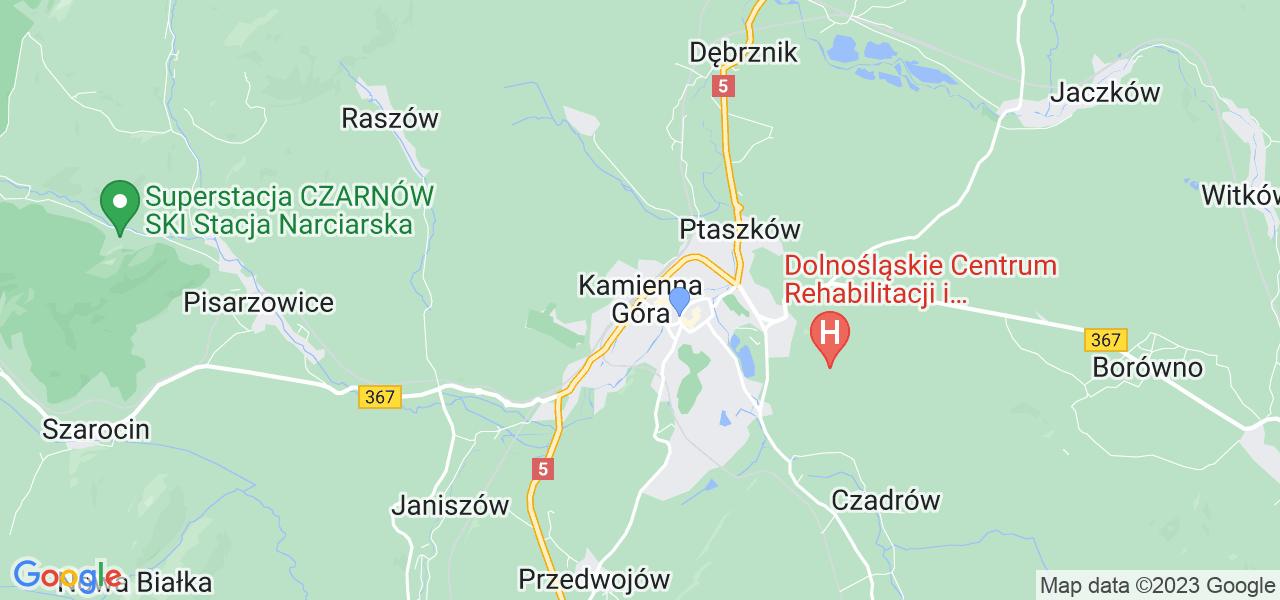 Dostępne w Kamiennej Górze lokalizacje punktów nadania, z których możesz skorzystać, chcąc wysłać turbinę do regeneracji w największym serwisie w Polsce