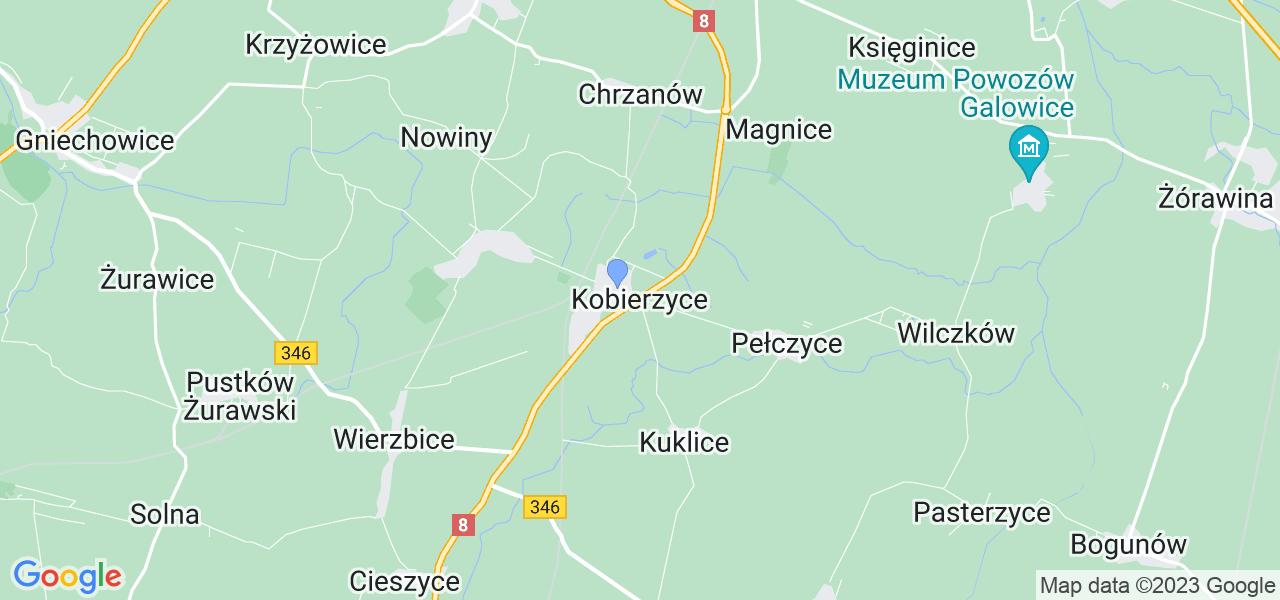 Dostępne w Kobierzycach lokalizacje punktów nadania, z których możesz skorzystać, chcąc wysłać turbinę do regeneracji w największym serwisie w Polsce
