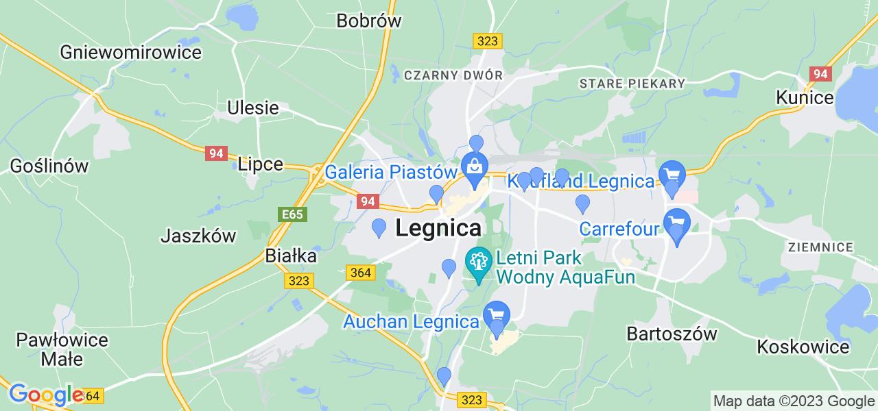 Dostępne w Legnicy lokalizacje punktów nadania, z których możesz skorzystać, chcąc wysłać turbinę do regeneracji w największym serwisie w Polsce