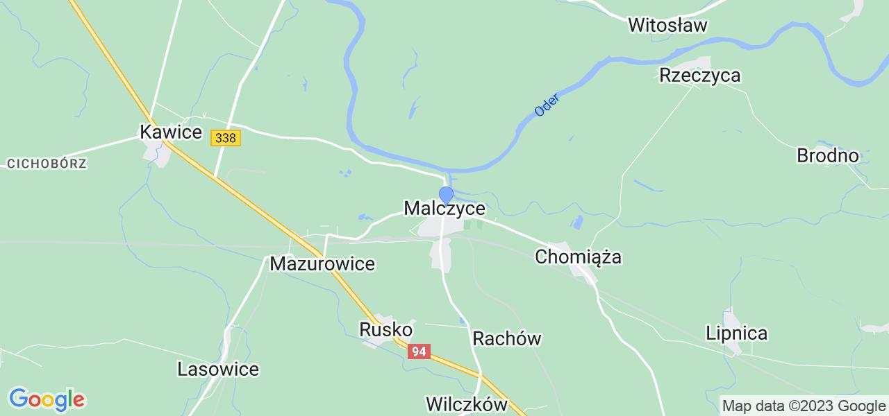Dostępne w Malczycach lokalizacje punktów nadania, z których możesz skorzystać, chcąc wysłać turbinę do regeneracji w największym serwisie w Polsce