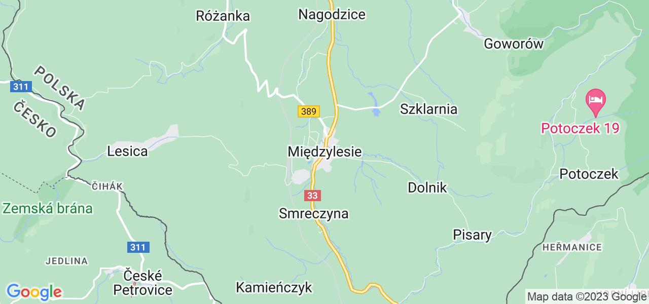 Dostępne w Międzylesiu lokalizacje punktów nadania, z których możesz skorzystać, chcąc wysłać turbinę do regeneracji w największym serwisie w Polsce