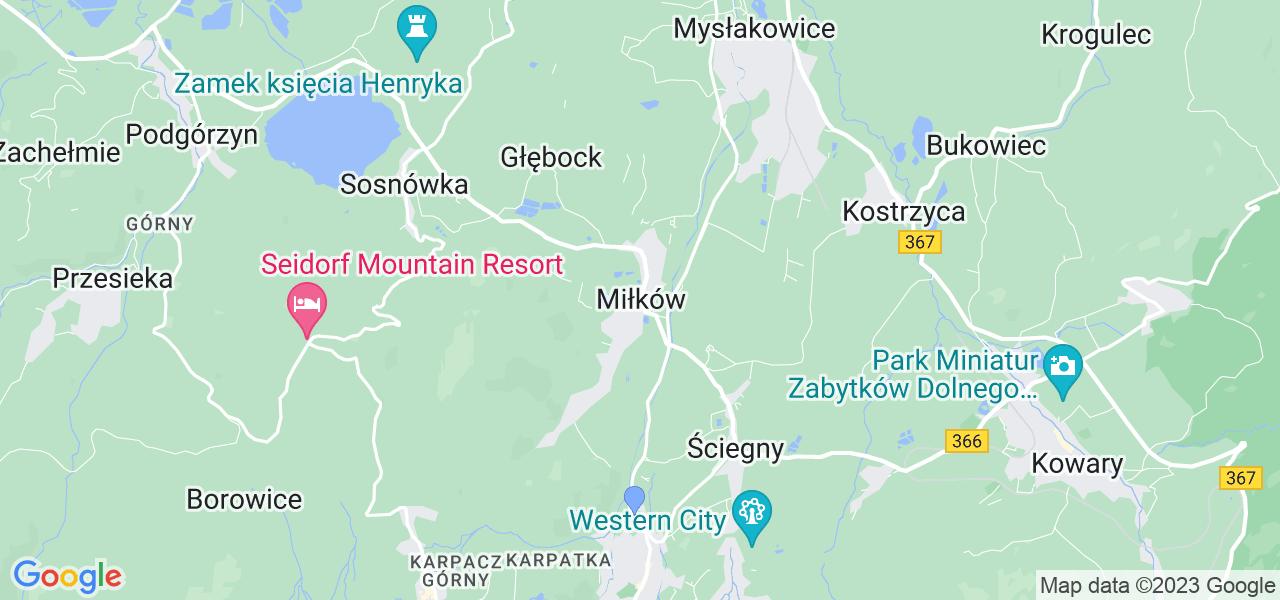 Dostępne w Miłkowie lokalizacje punktów nadania, z których możesz skorzystać, chcąc wysłać turbinę do regeneracji w największym serwisie w Polsce