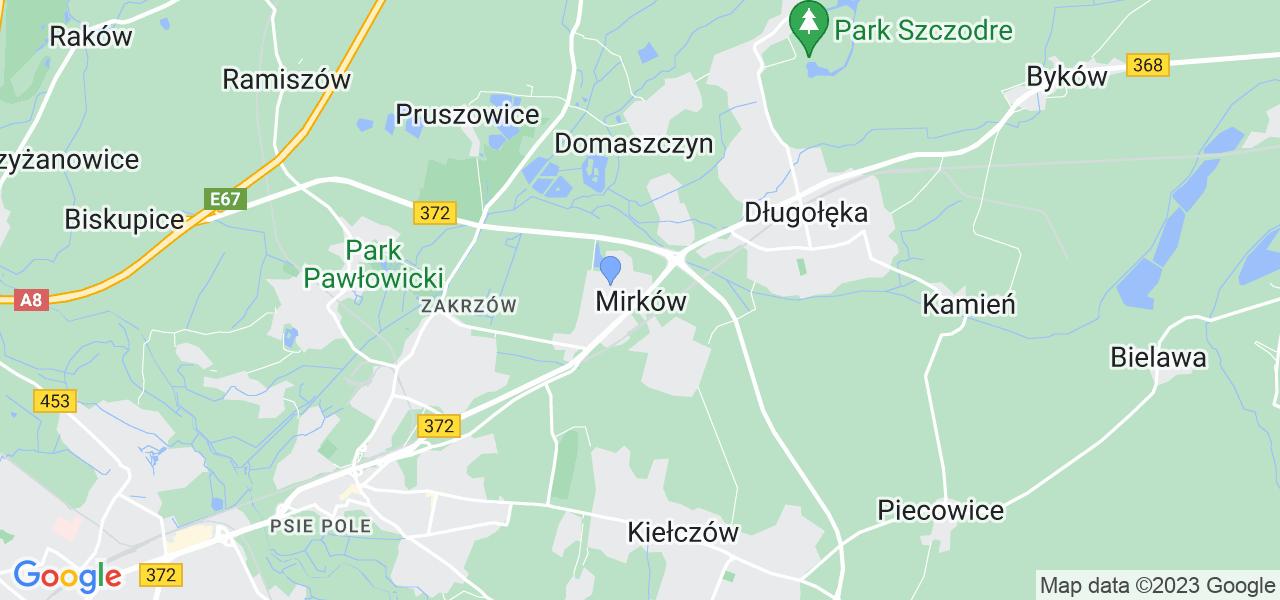 Dostępne w Mirkowie lokalizacje punktów nadania, z których możesz skorzystać, chcąc wysłać turbinę do regeneracji w największym serwisie w Polsce