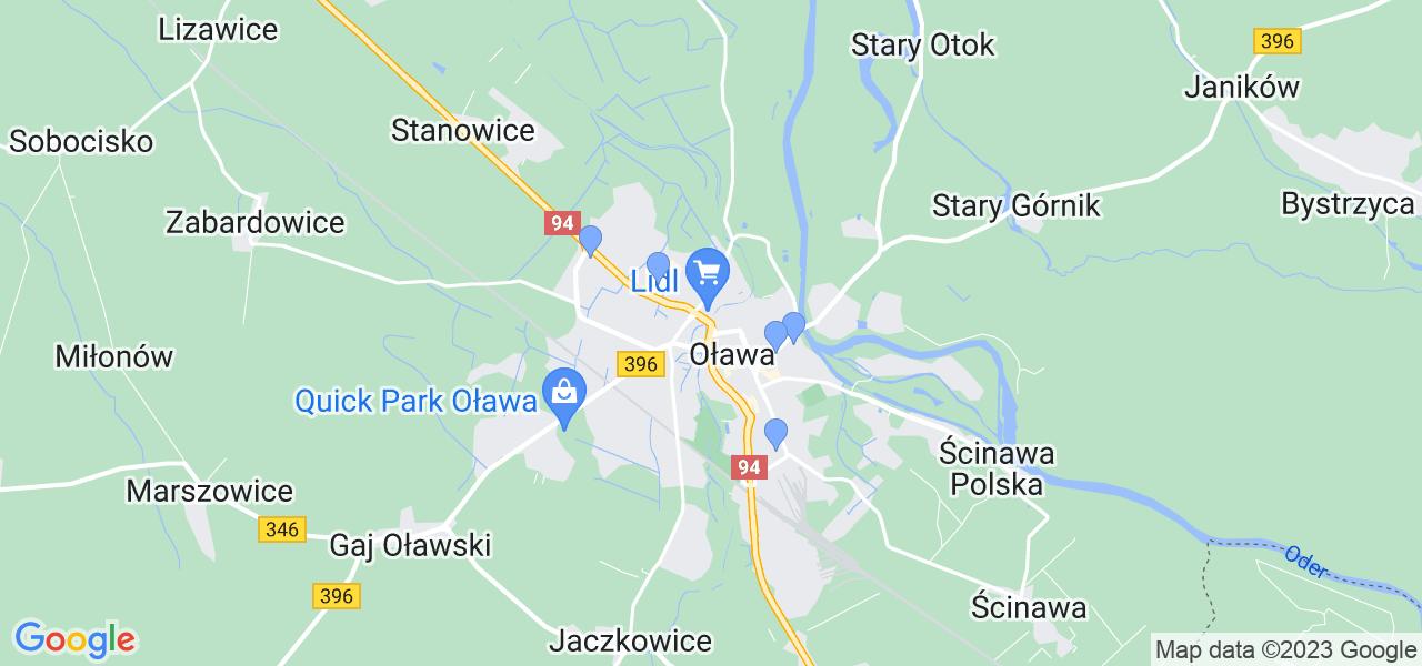 Dostępne w Oławie lokalizacje punktów nadania, z których możesz skorzystać, chcąc wysłać turbinę do regeneracji w największym serwisie w Polsce