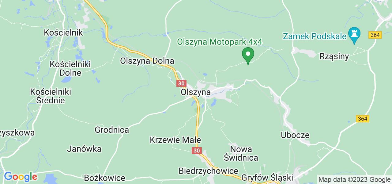 Dostępne w Olszynie lokalizacje punktów nadania, z których możesz skorzystać, chcąc wysłać turbinę do regeneracji w największym serwisie w Polsce