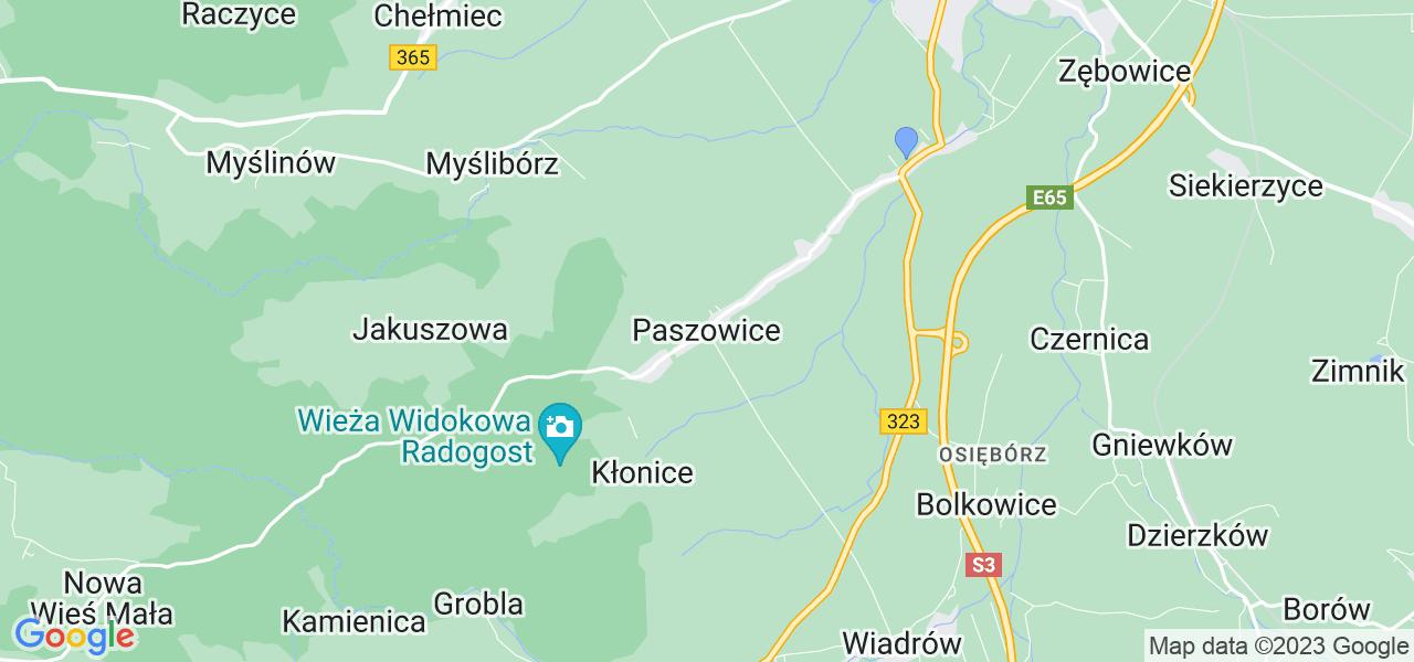 Dostępne w Paszowicach lokalizacje punktów nadania, z których możesz skorzystać, chcąc wysłać turbinę do regeneracji w największym serwisie w Polsce