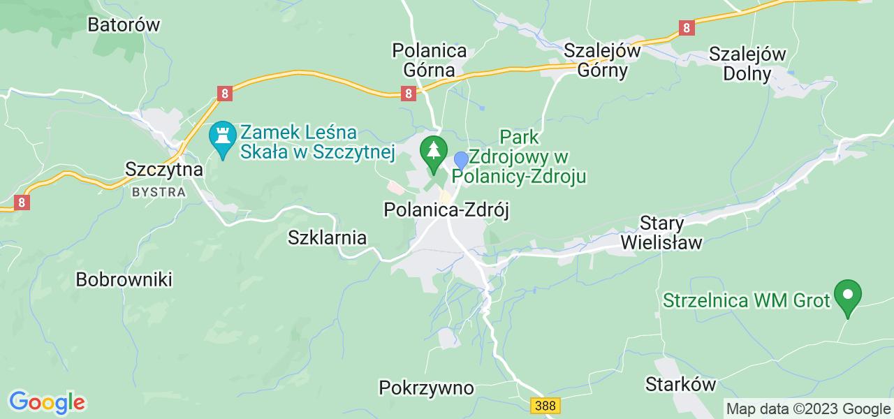 Dostępne w Polanicy-Zdroju lokalizacje punktów nadania, z których możesz skorzystać, chcąc wysłać turbinę do regeneracji w największym serwisie w Polsce
