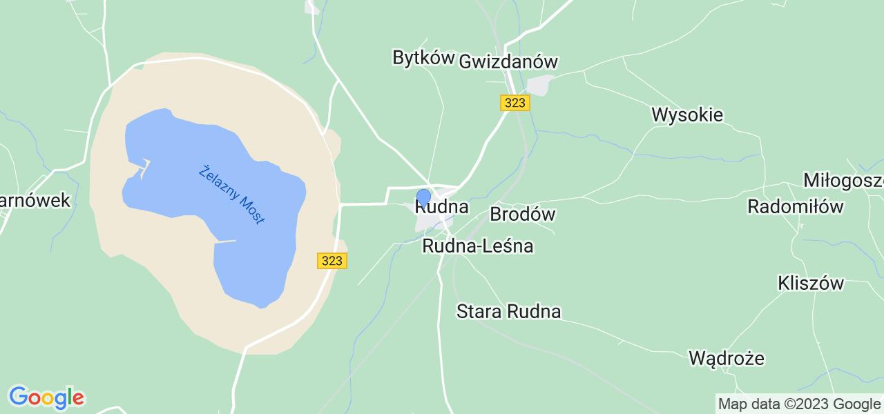 Dostępne w Rudnej lokalizacje punktów nadania, z których możesz skorzystać, chcąc wysłać turbinę do regeneracji w największym serwisie w Polsce