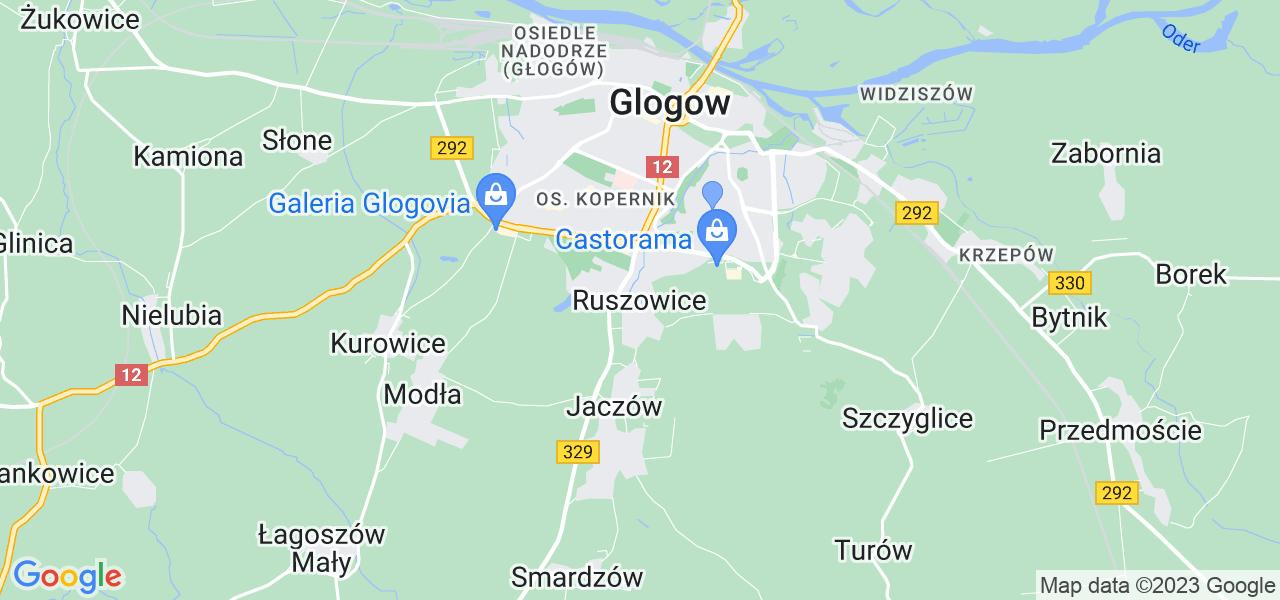 Dostępne w Ruszowicach lokalizacje punktów nadania, z których możesz skorzystać, chcąc wysłać turbinę do regeneracji w największym serwisie w Polsce