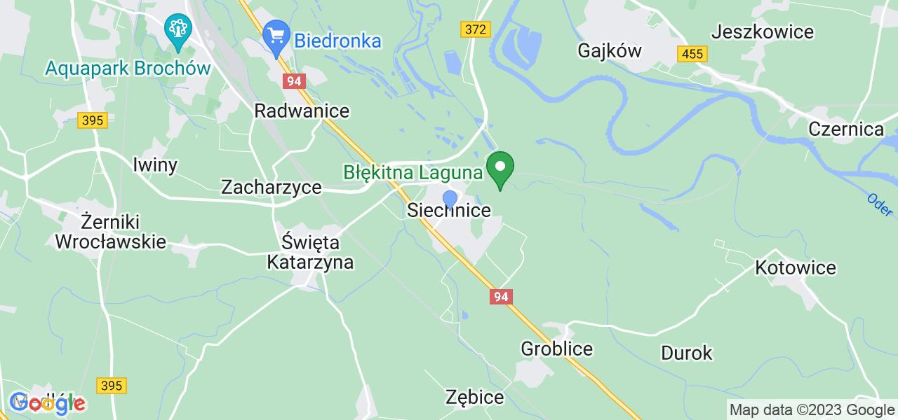 Dostępne w Siechnicach lokalizacje punktów nadania, z których możesz skorzystać, chcąc wysłać turbinę do regeneracji w największym serwisie w Polsce