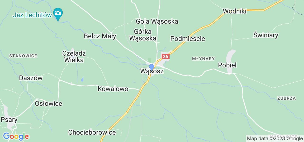 Dostępne w Wąsoszu lokalizacje punktów nadania, z których możesz skorzystać, chcąc wysłać turbinę do regeneracji w największym serwisie w Polsce
