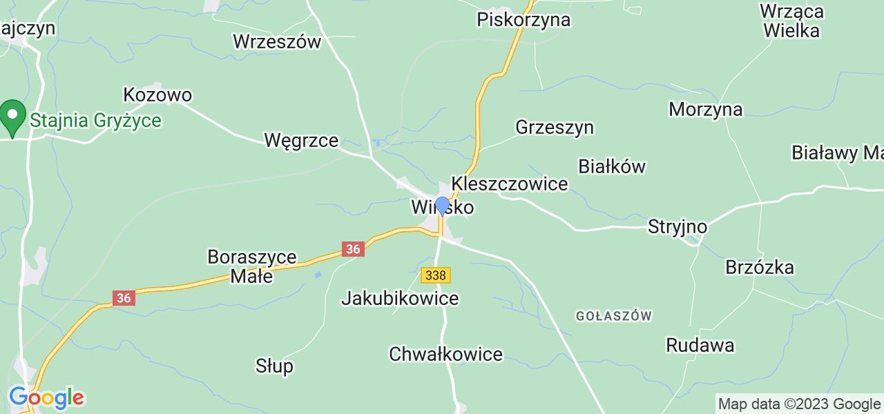 Dostępne w Wińsku lokalizacje punktów nadania, z których możesz skorzystać, chcąc wysłać turbinę do regeneracji w największym serwisie w Polsce