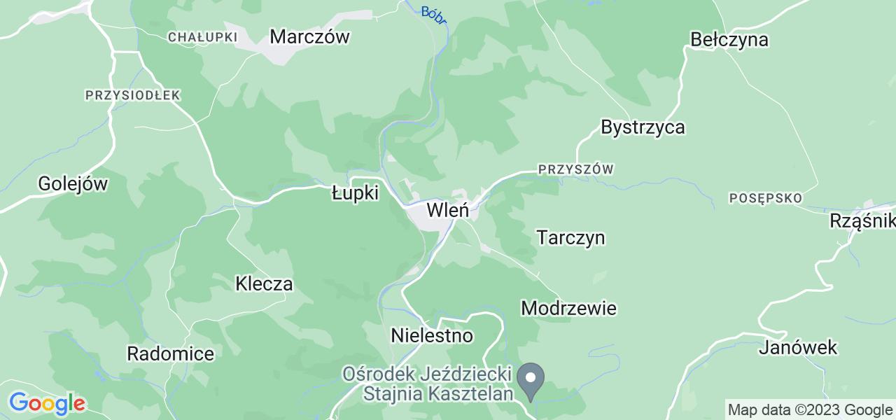 Dostępne w Wleniu lokalizacje punktów nadania, z których możesz skorzystać, chcąc wysłać turbinę do regeneracji w największym serwisie w Polsce