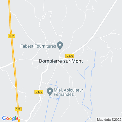 bed and breakfast Dompierre-sur-Mont