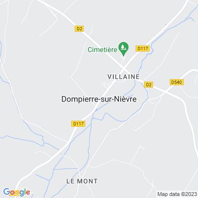 bed and breakfast Dompierre-sur-Nièvre