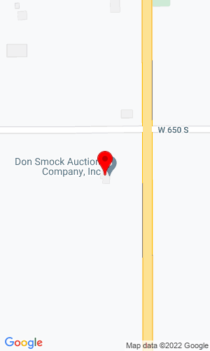 Google Map of Don Smock Auction Company, Inc. 6531 S. State Road 13, Pendleton, IN, 46064-9194,