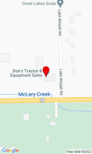 Google Map of Don's Tractor Sales 2516 M-32 West, Alpena, MI, 49707,
